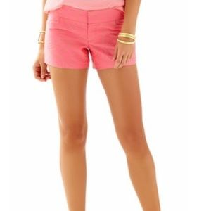Lilly Pulitzer Flamingo Pink Ellie Shorts